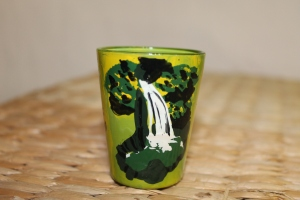 Dominica shot glass