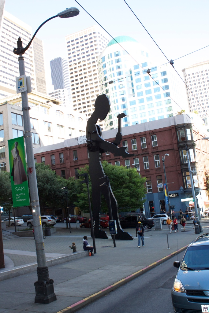 The hammering man in Seattle