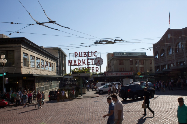 Passed Pike Place Public Market