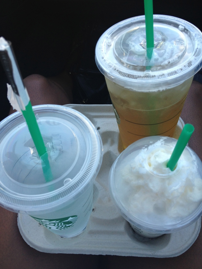 Finally got my fix! I have a green tea lemonade with 3 pumps classic, light ice. Yea I'm one of those complicated people.
