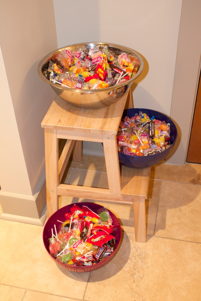 Too much candy....