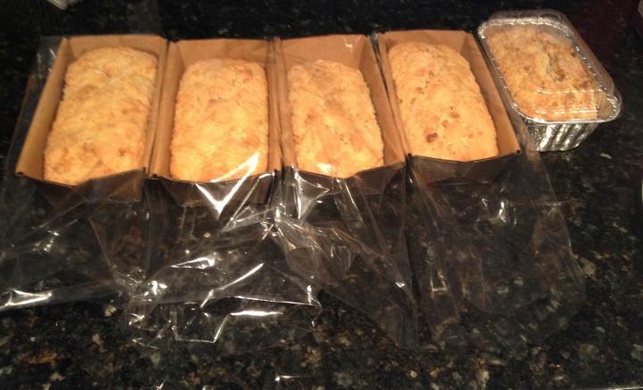 Coconut Bread (Sweet Bread)