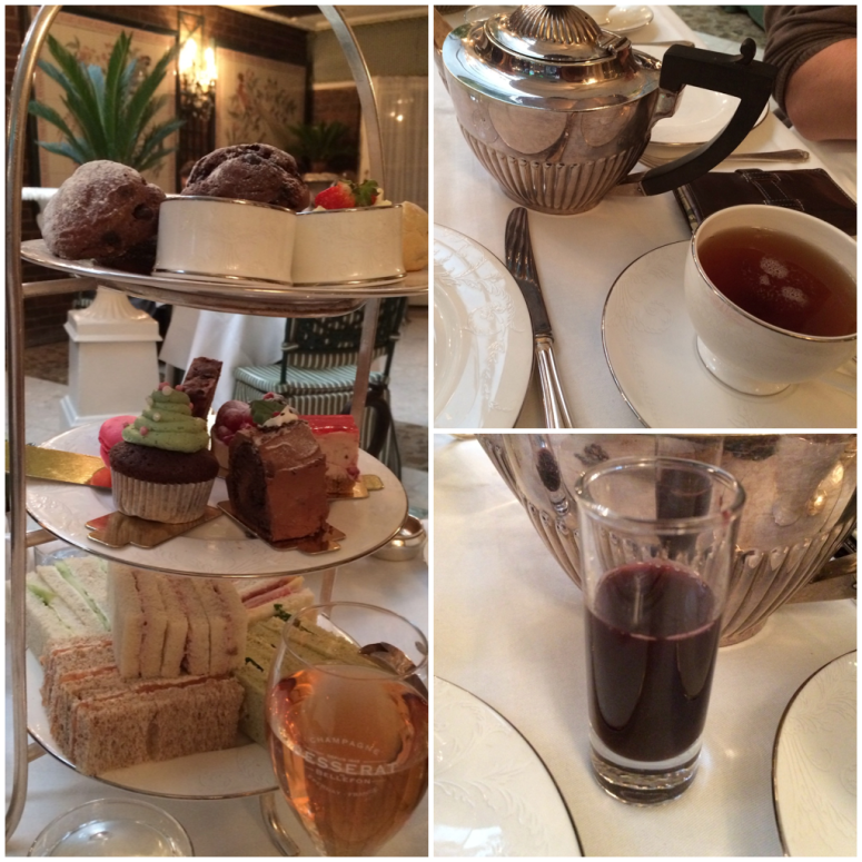 Snapshots of Tea at the Chesterfield Mayfair